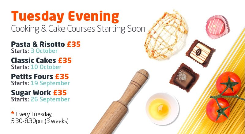 Tuesday Evening - Cooking Classes