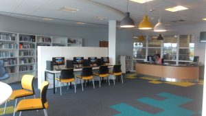 Paisley campus library - inside