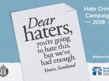 Student Intranet - Hate Crime