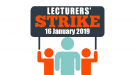 Lecturers Strike 16-01-19 - Student Intranet Banner