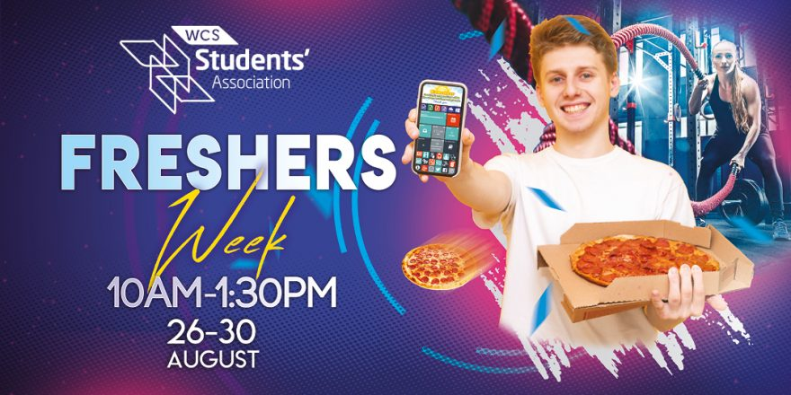 Freshers Week 2019 - Student Intranet Banner