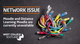 Network issue - Student Intranet Banner