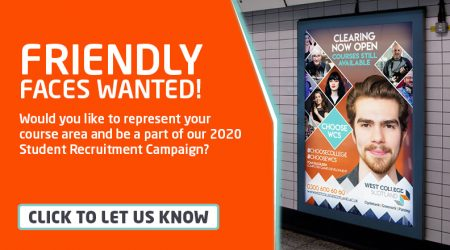 Models Wanted - Student Intranet Banner