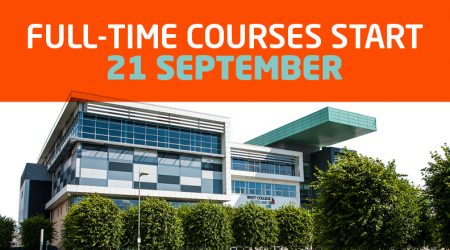 Courses Open September - Feature Image